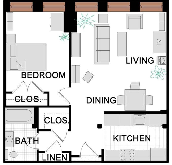 one bedroom floor plan_ANWELT